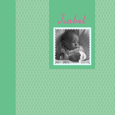 Een snoezig geboortekaartje voor een meisje met hartjes en foto - Foto tiener ruimte meisje ...